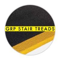 GRP step treads