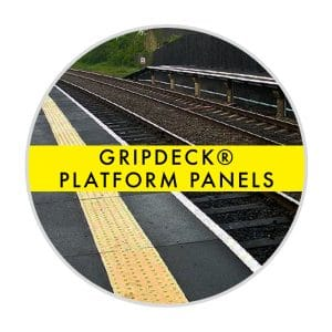 GripDeck Rail Platform Panels