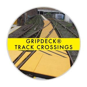 GripDeck Rail Crossing Panels