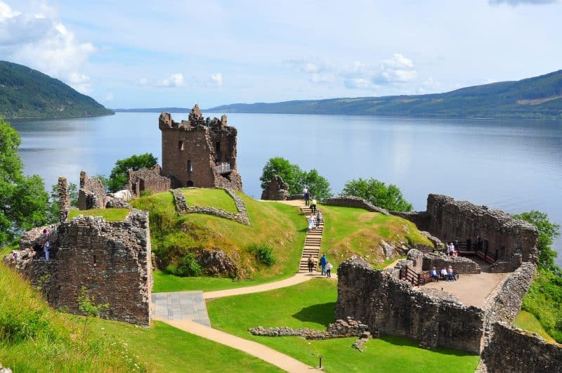 Our Latest WOW project, Urquhart Castle