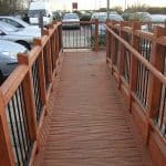 antislip ramp timber