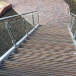antislip decking steps