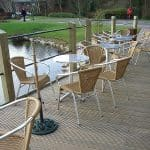 antislip timber decking